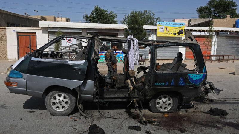 塔利班襲擊阿富汗代理防長未遂  至少6死7傷