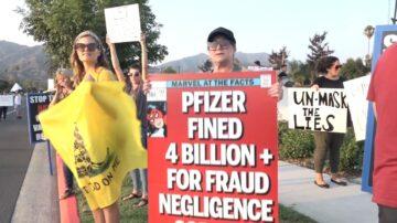 南加家長「自由集會」 抗議強制口罩令