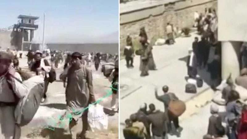 塔利班打开关押恐怖分子的监狱 释放数千囚犯