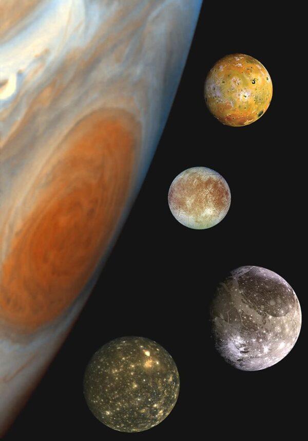 木星卫星互掩互食 今晚10时望远镜可见 下次等到115年