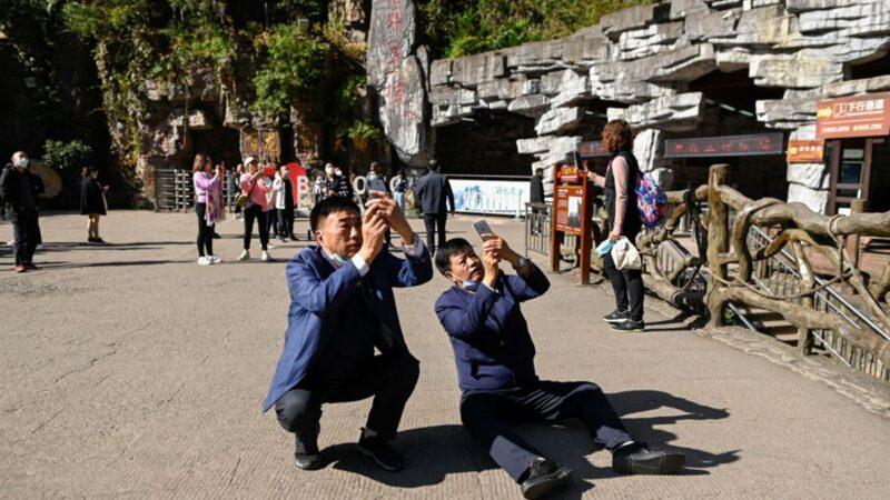 中國爆172個中高風險區 張家界遊客不准離開