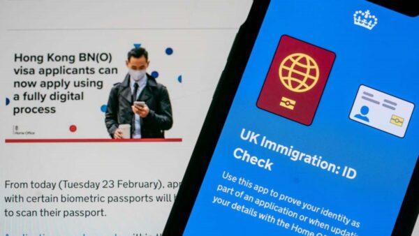 中共特工監視香港簽證中心 英政府籲港人網上申請
