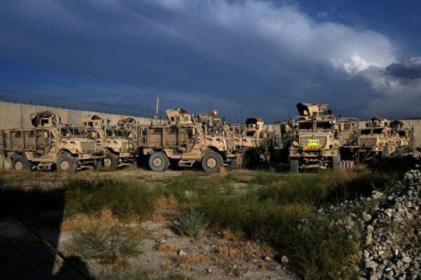 美軍撤離喀布爾 留下哪些軍備武器