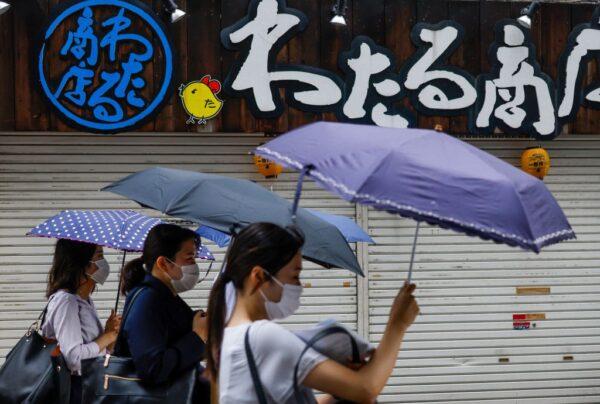 日本关东遇焚风上看40度 卢碧转低气压引暴雨