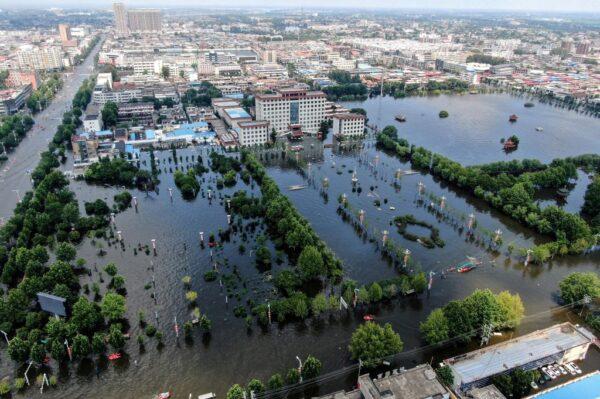 河南省多地将再遭暴雨 新郑、开封市停工停业