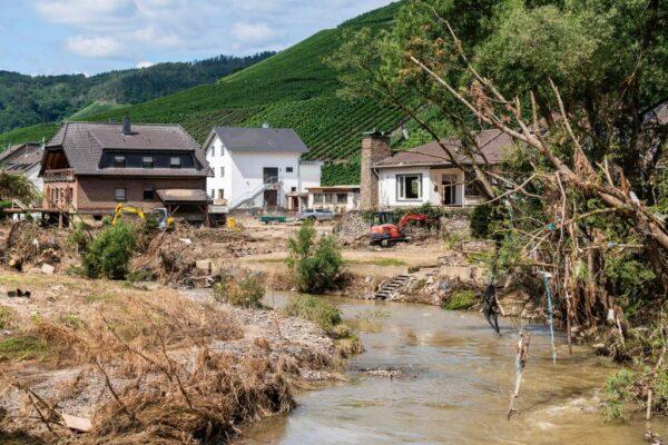 德国洪灾酿逾180人死 检方拟朝过失杀人侦办