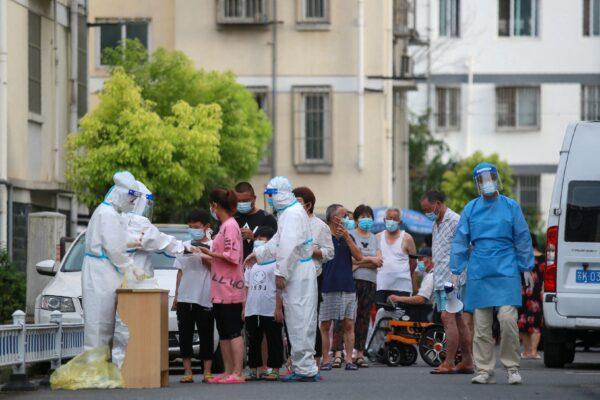 揚州棋牌室爆疫情 第三輪檢測 增7中風險區