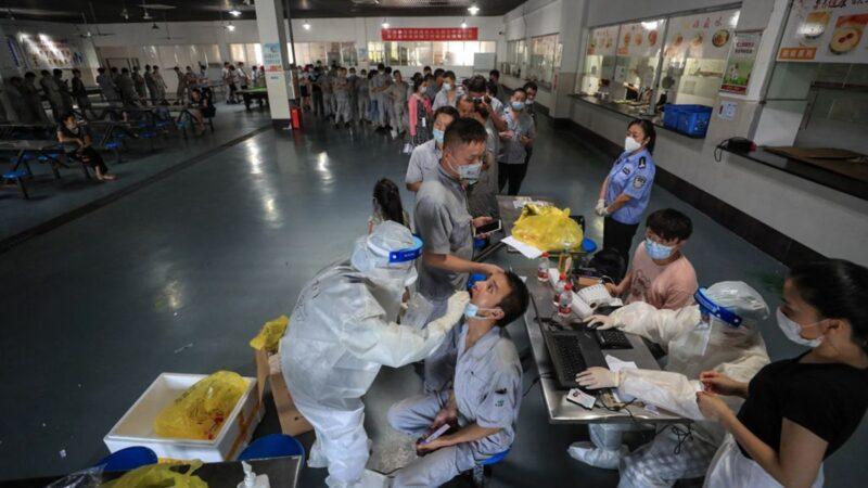 武漢2天內封閉56個小區 3萬間隔離房快用完