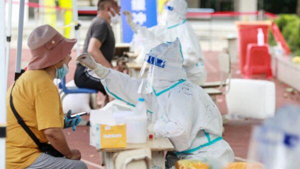 1傳35人 揚州一檢測點傳染鏈現三代傳播