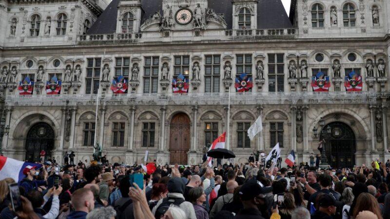 法國健康通行證今起實施 擴及餐廳和城際旅行
