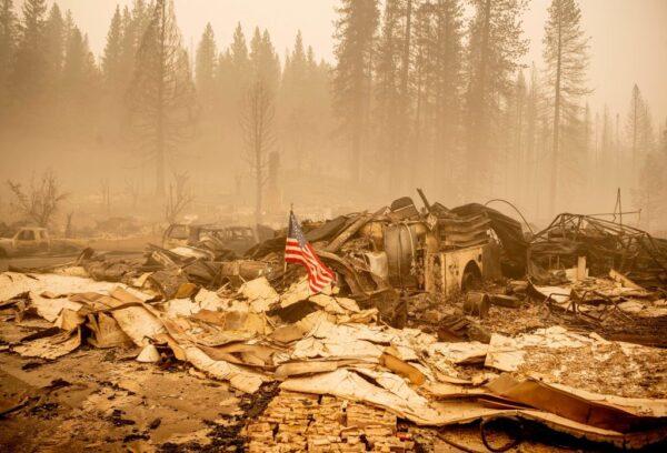 加州迪克西野火 已酿5人失踪 21%火势获控制