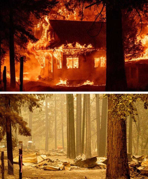 加州迪克西野火愈燒愈旺 燒毀面積比洛杉磯還大(組圖)