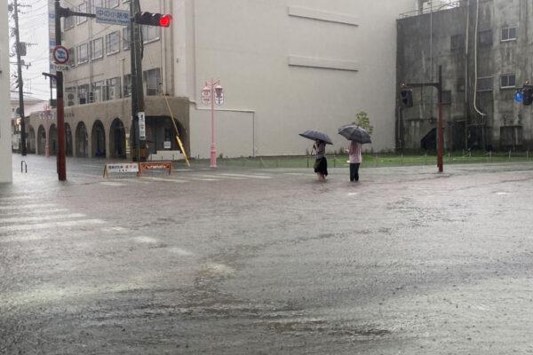 日本九州創紀錄大雨 釀6死4失蹤