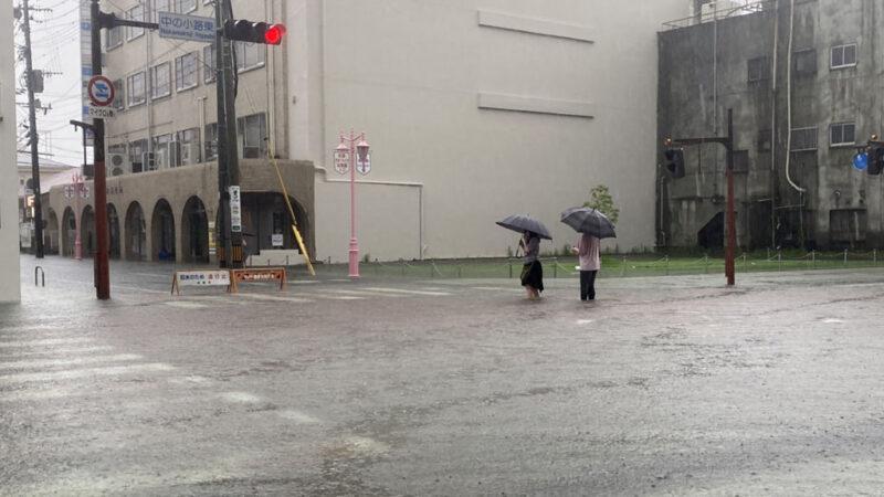 日本九州创纪录大雨 酿6死4失踪