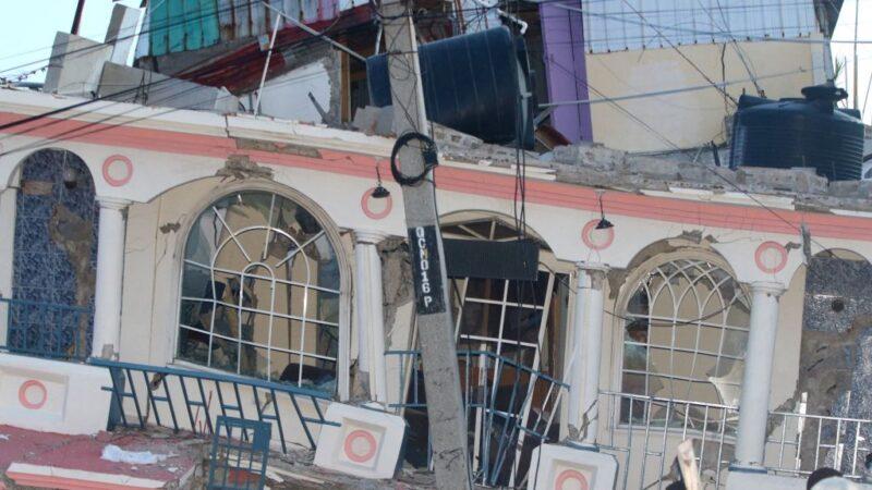 海地強震增至1297人死 熱帶風暴接踵而來
