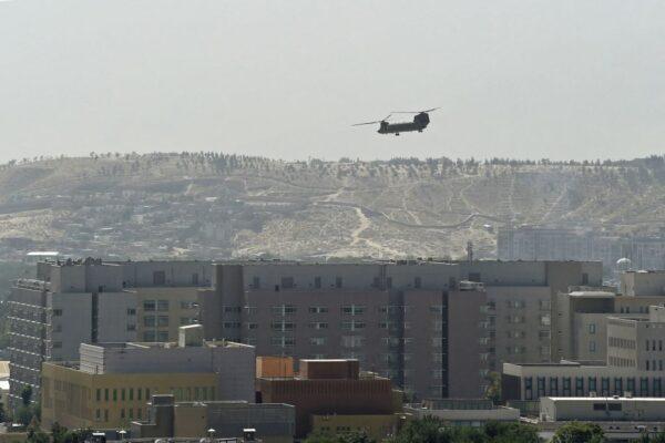 喀布尔沦陷传塔利班接管 美军机急撤大使馆员
