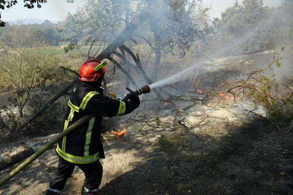 地中海野火延烧 法南度假胜地数以千人紧急疏散