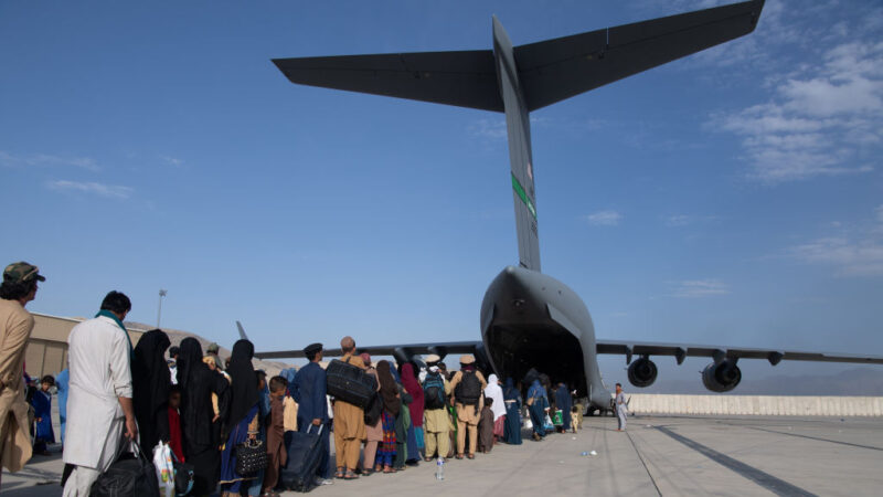 阿富汗难民抵美后将去哪? 35州愿意接收