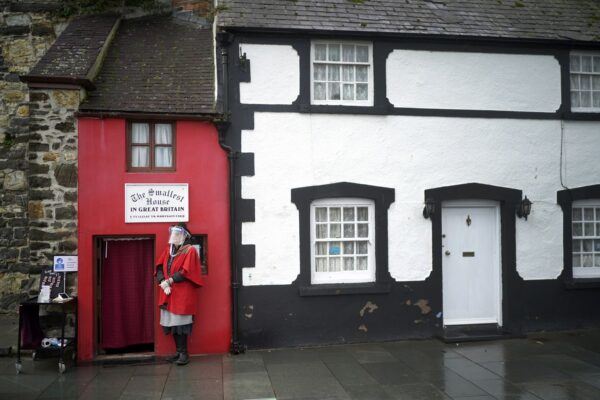 超迷你! 吉尼斯认证英国最小房 年均访客超5万