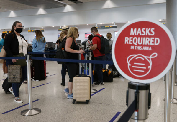 美大众运输口罩令 拟延长至2022年1月18日