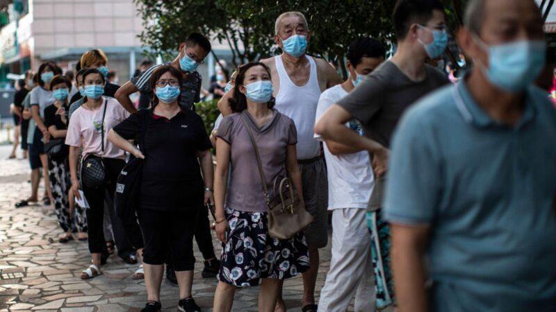 中國疫情大範圍擴散 高中風險區增至198個