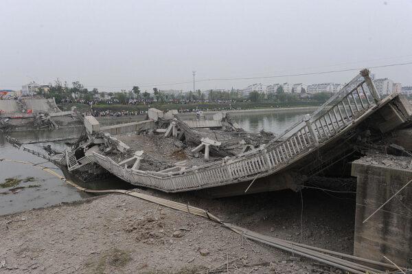 安徽在建橋墩托架坍塌致4死 9天後才被公開