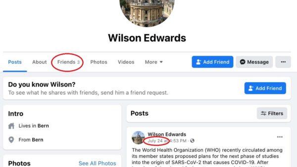 瑞士使館「尋人啟事」揭穿謊言 黨媒急刪造假報導