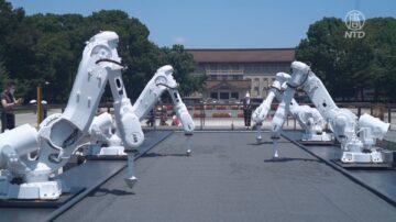 伴隨東奧 「永恆的園丁」機器人藝術展亮相
