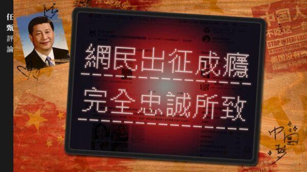 任甄:网民出征成瘾 完全忠诚所致