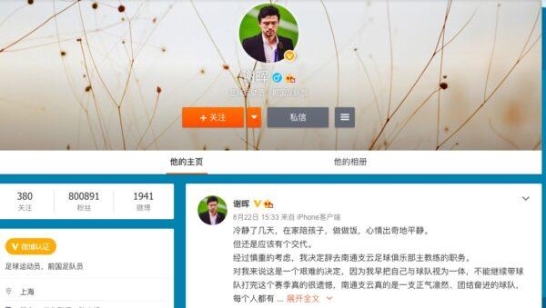 """谢晖辞职将赴德国 再回应""""偷拍视频""""事件"""