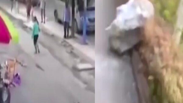 广西百色4.8级地震 多地有震感 居民拔腿就跑(视频)