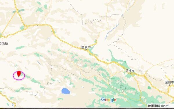 甘肃酒泉5.5级地震 敦煌、嘉峪关震感强烈