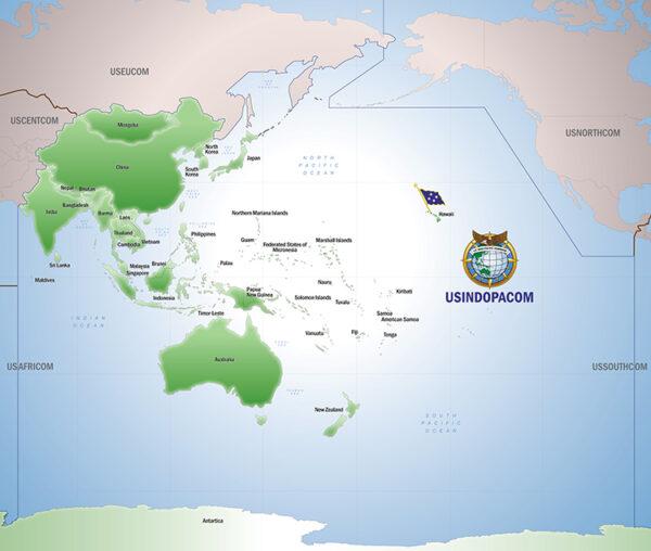 周田:美军印太司令部有多大?