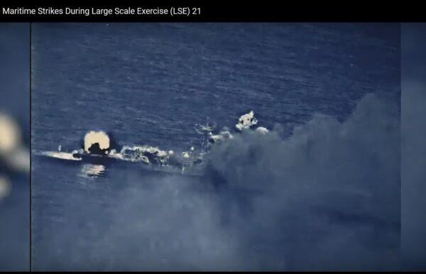 沈舟:美軍給中共演示什麼叫實彈演習