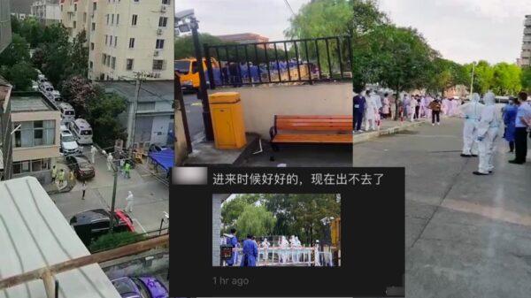 上海松江疫情後 浦東川沙也傳出疫情 小區被封鎖