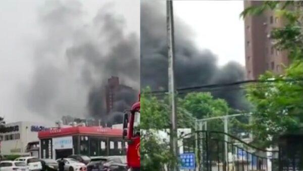 一週內第三起!瀋陽氫氣罐車爆燃濃煙滾滾(視頻)