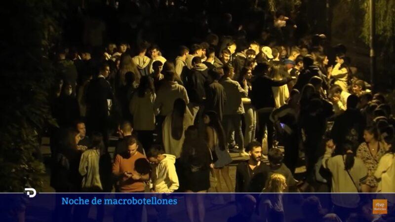 慶祝新學期 馬德里大學2.5萬人無罩開派對
