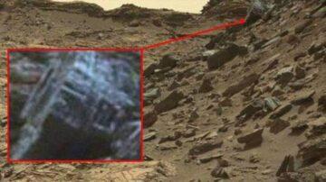 火星上拍到神祕文明遺址  外星人的古蹟?