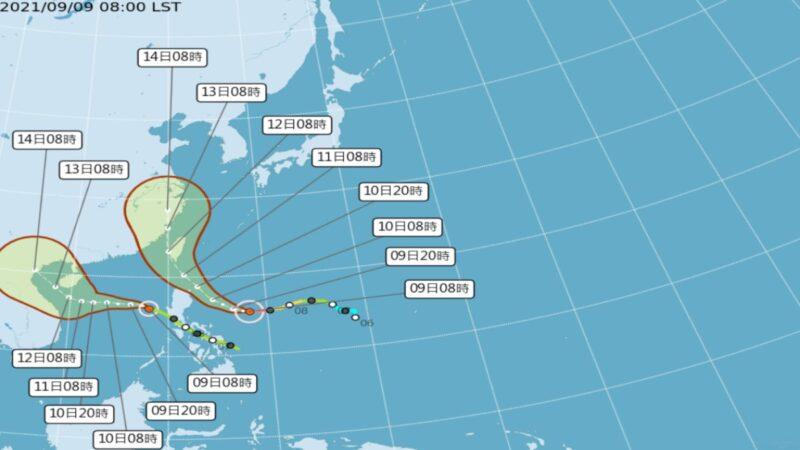 極快速增強 颱風「璨樹」不排除直接登陸台灣