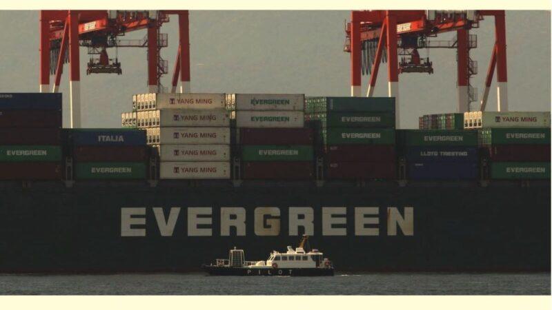 货柜运价续涨 长荣第二艘大船投入营运