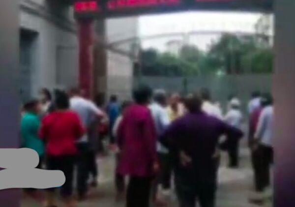 四川广安初中近百学生发热呕吐 医院爆满(视频)