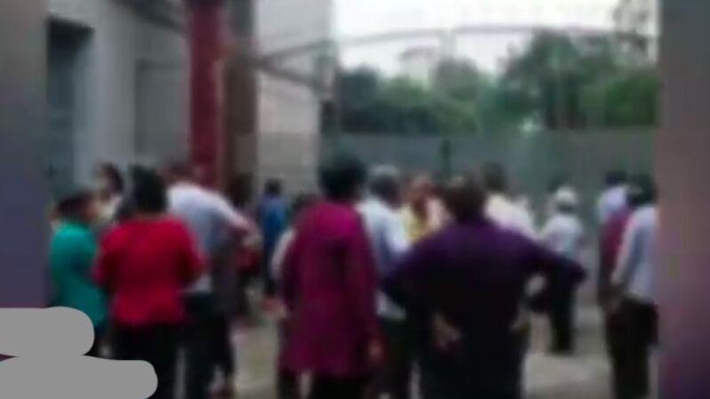 四川廣安初中近百學生發熱嘔吐 醫院爆滿(視頻)