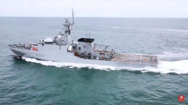 英國兩艘新型巡邏艦艇 7日展開印太常態部署