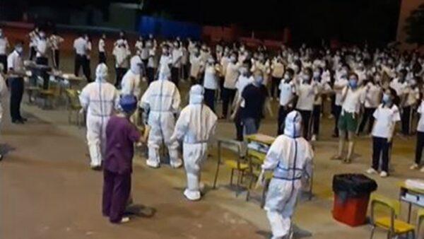 中秋节临近 广州再现疫情 福建开始封村 (视频)