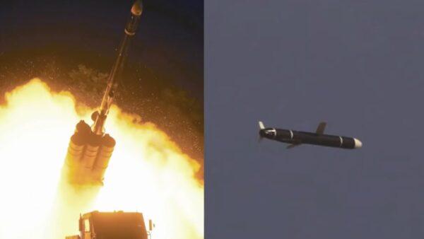 朝鲜试射新型远程巡航导弹 金正恩未露面