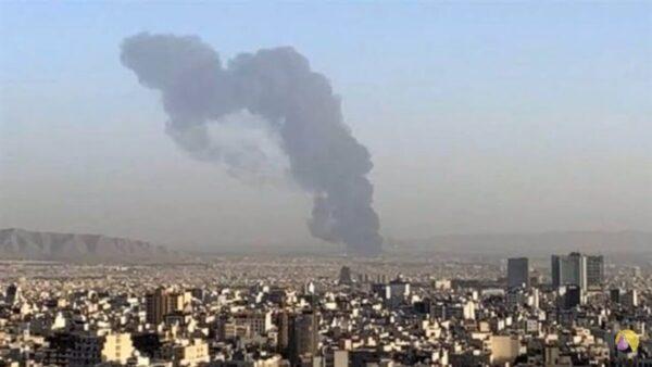 神祕大火 伊朗革命衞隊研究中心3人受傷