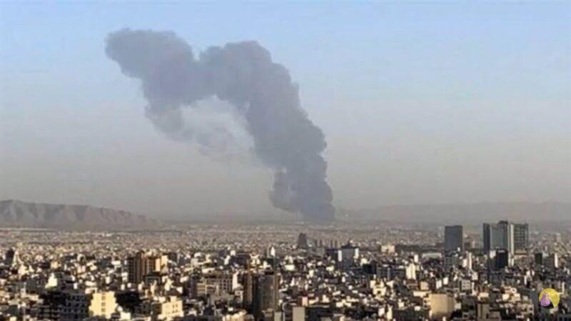 神秘大火 伊朗革命卫队研究中心3人受伤