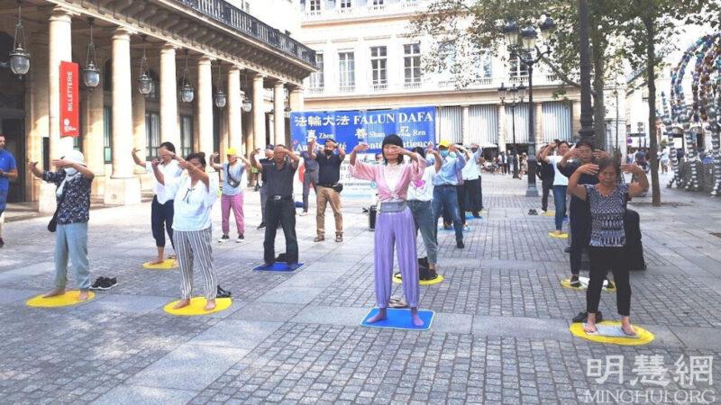 巴黎民众:面对迫害保持沉默是耻辱