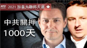 數百人集會 呼籲釋放被中共拘留的兩名加拿大人