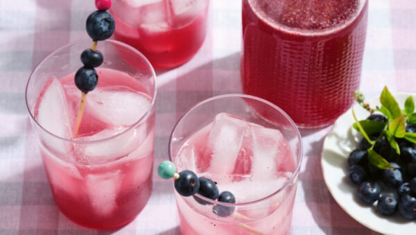 蓝莓甜酒汁 解渴提神的夏季饮料